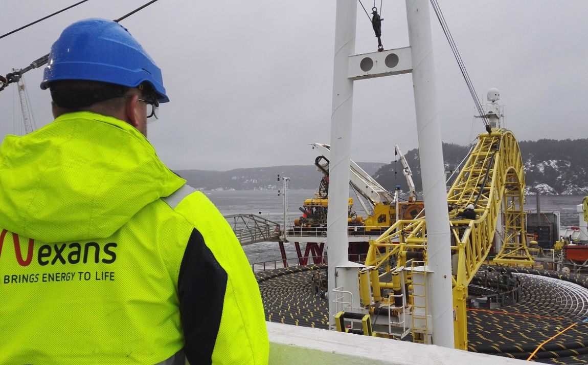 Nexans Power Export Cable Sails To Scotland