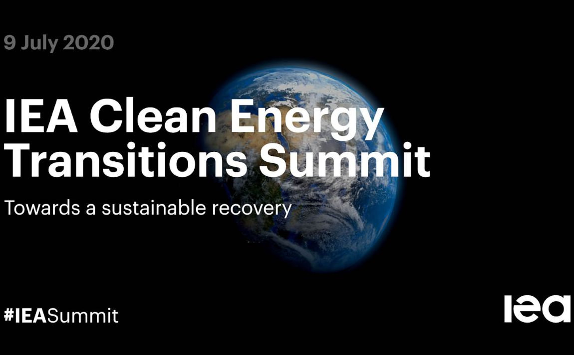 IEA (International Energy Agency) Clean Energy Transition Summit - July 2020