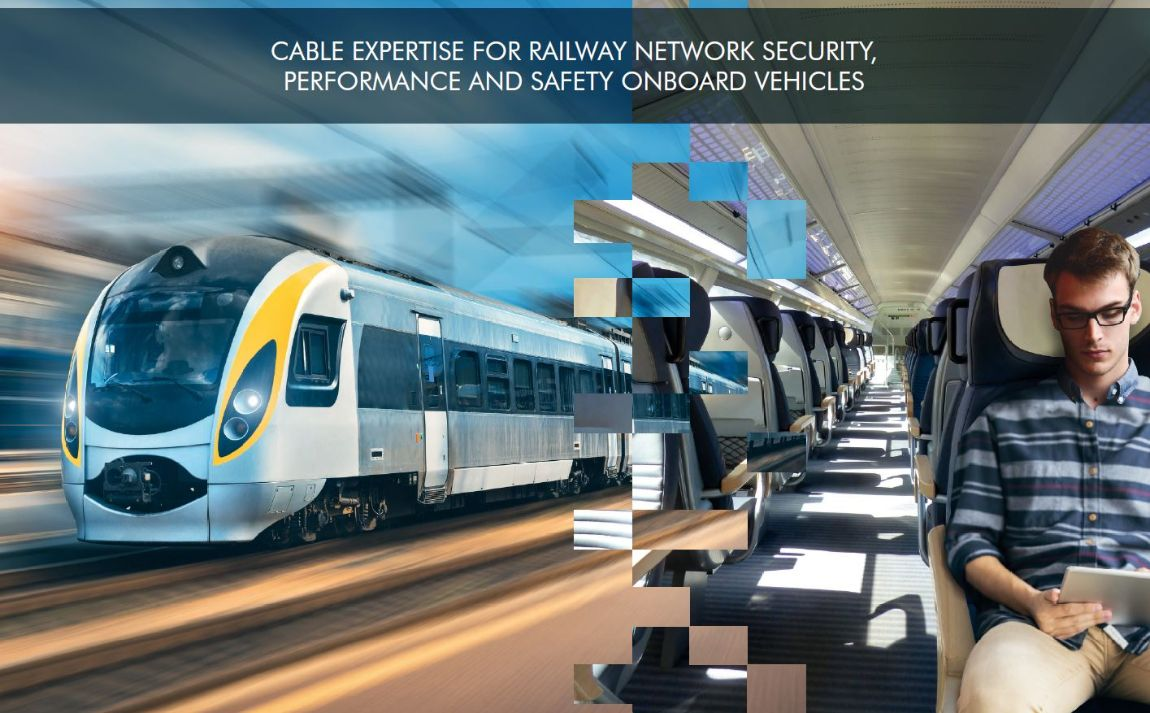 Nexans FLAMEX® Ethernet cables for rolling stock