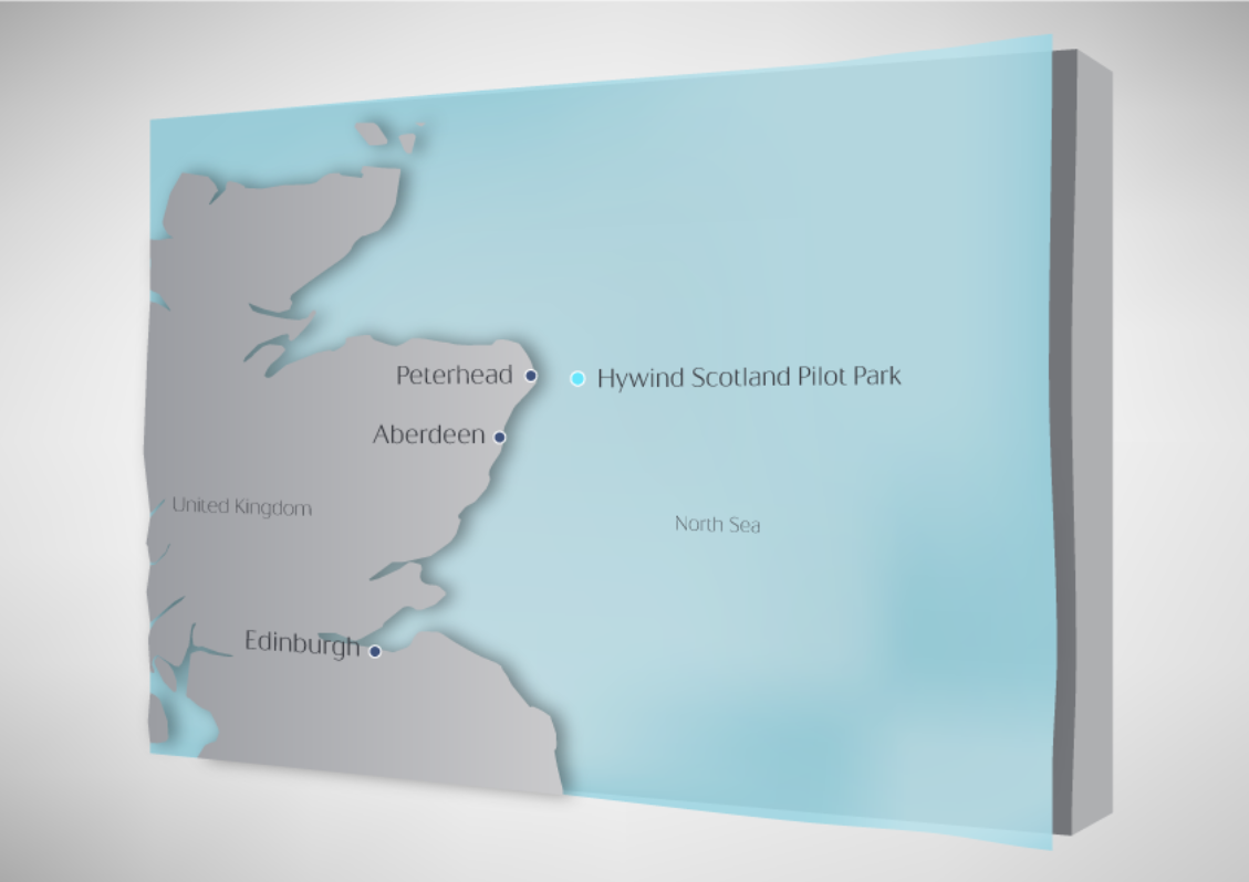 Hywind project - copyright STATOIL - windfarms offshore