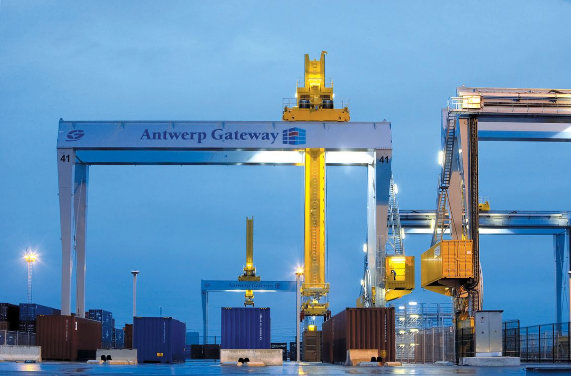 Port of Antwerp, Belgium - Automated Stacking Cranes (ASC)