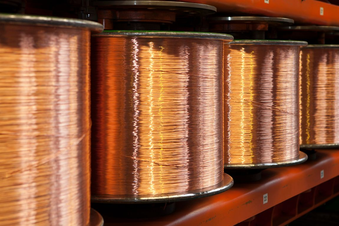 Copper wires - Nexans manufacturing unit