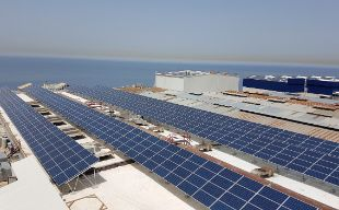Liban Cables Plant Solar panels
